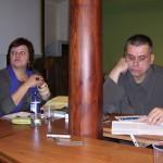 Nijolė Radavičienė ir Marius Povilas Šaulauskas