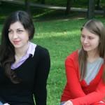 Jūratė Sabašinskaitė ir Viktorija Ringytė