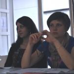 Jūratė Sabašinskaitė ir Indrė Meškėnaitė